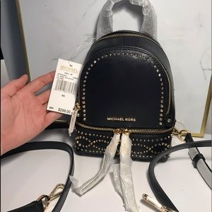 Michael Kors XS Convertible Backpack